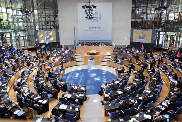 What's the status with the international climate negotiations?