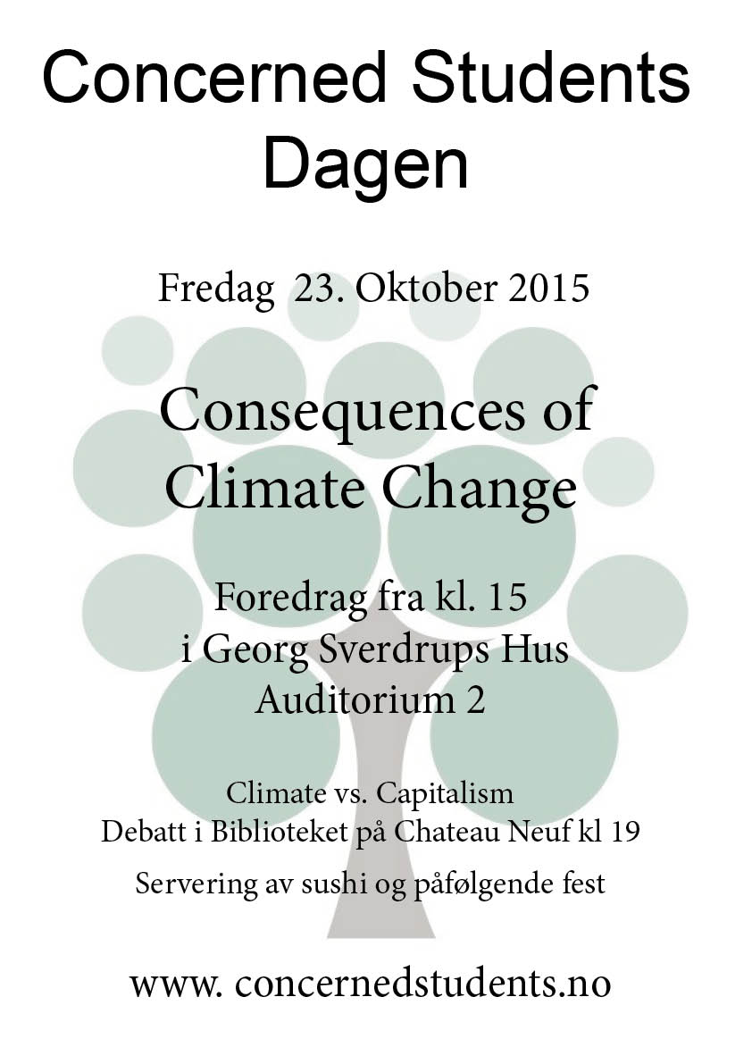Concerned Students-dagen 23/10