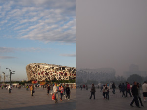 Why is Beijing so foggy?