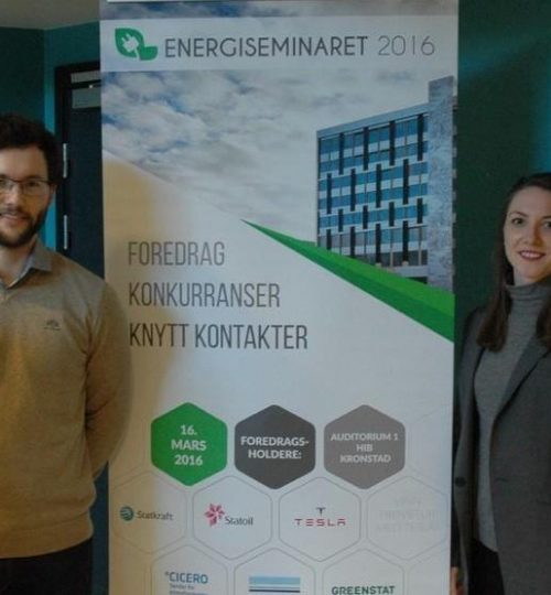 "Career: From the ""energy day"" in Bergen in colloboration with GreenStat"