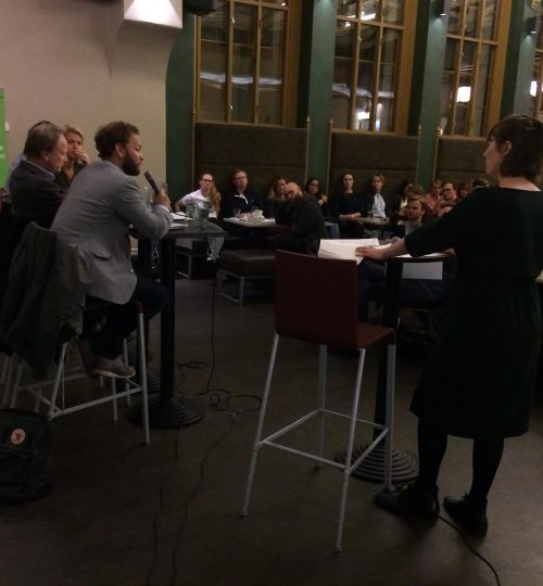 From a debate about the Norwegian climate suite